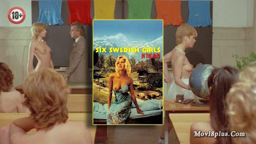 Six Swedish Girls in Alps (Sechs Schwedinnen auf der Alm)